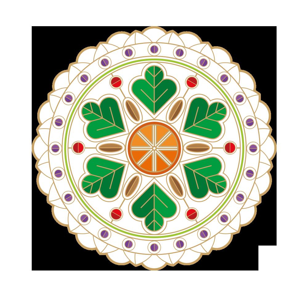 mandala-coentro