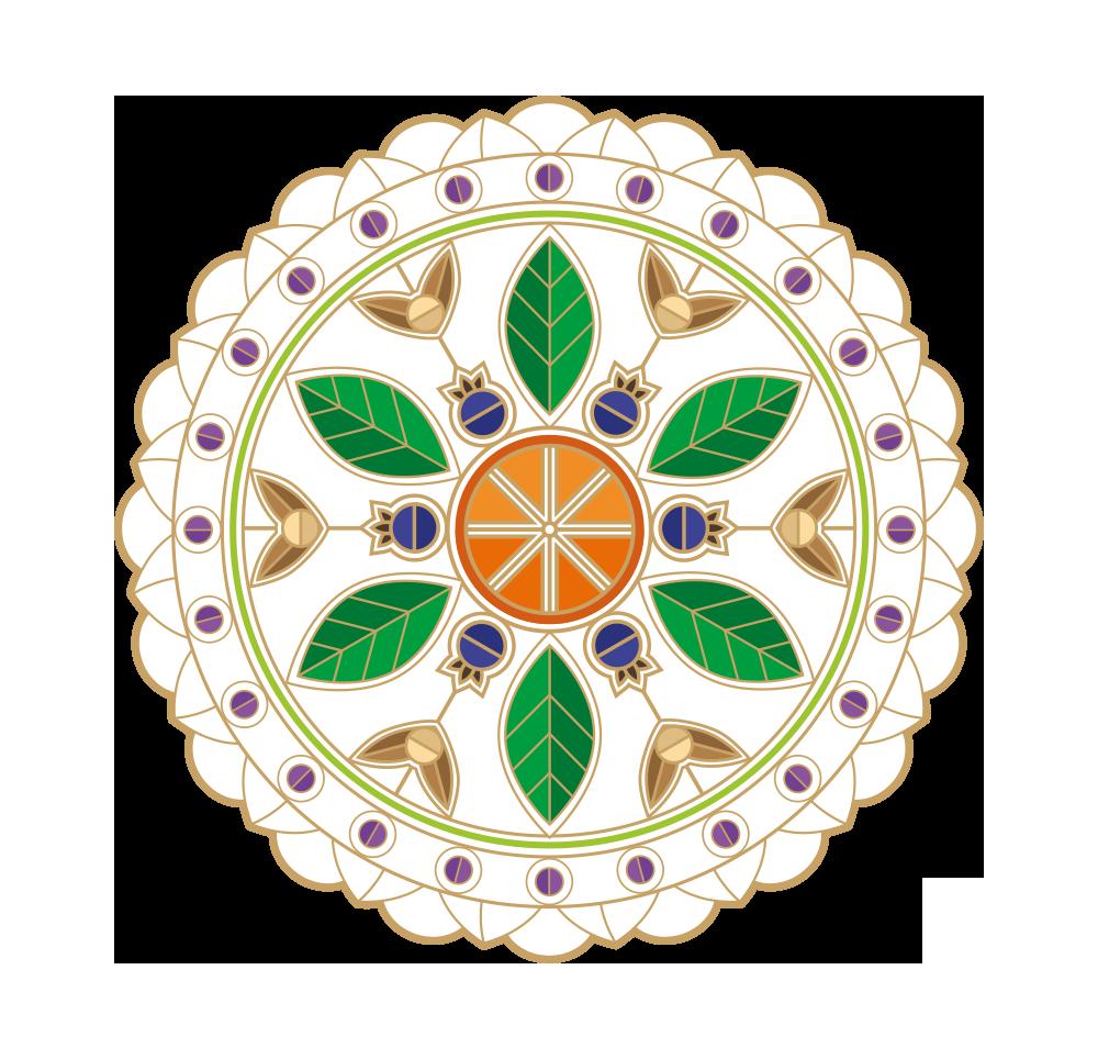 mandala-louro