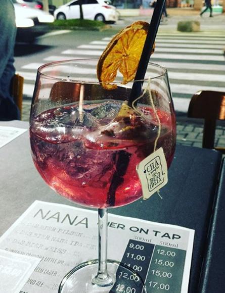 gin tonica nana